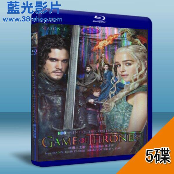 冰与火之歌:权力游戏 game of thrones 第3季 (5碟) 蓝光25g图片